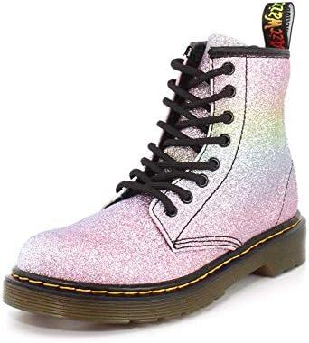 Dr. Martens Girls 1460 Rainbow Glitter