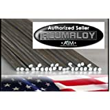 """Alumaloy 20 Rods - USA Made, As Seen on TV, 1/8"""" x 18"""" Simple Welding Rods, Aluminum Brazing/Welding Rods, Aluminum Repair"""