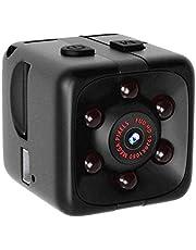 Action Kamera,Nourich Mini Full HD 1080P DV Überwachungskamera Nachtsichtkamera Digitalkamera Videorecorder Selfie Motion Cam Nachtsicht Audio Halterungen