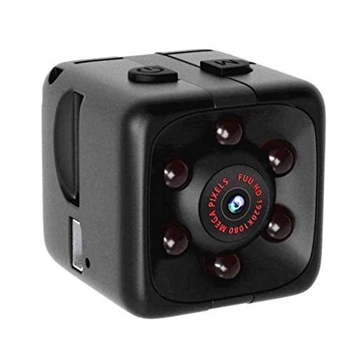 Ciyoon 2019 Black Mini Full HD 1080P DV Action Security Motion Cam Night Vision Camera