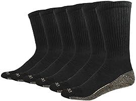 Dickies Men's Multi-Pack Dri-Tech Moisture Control Crew Socks