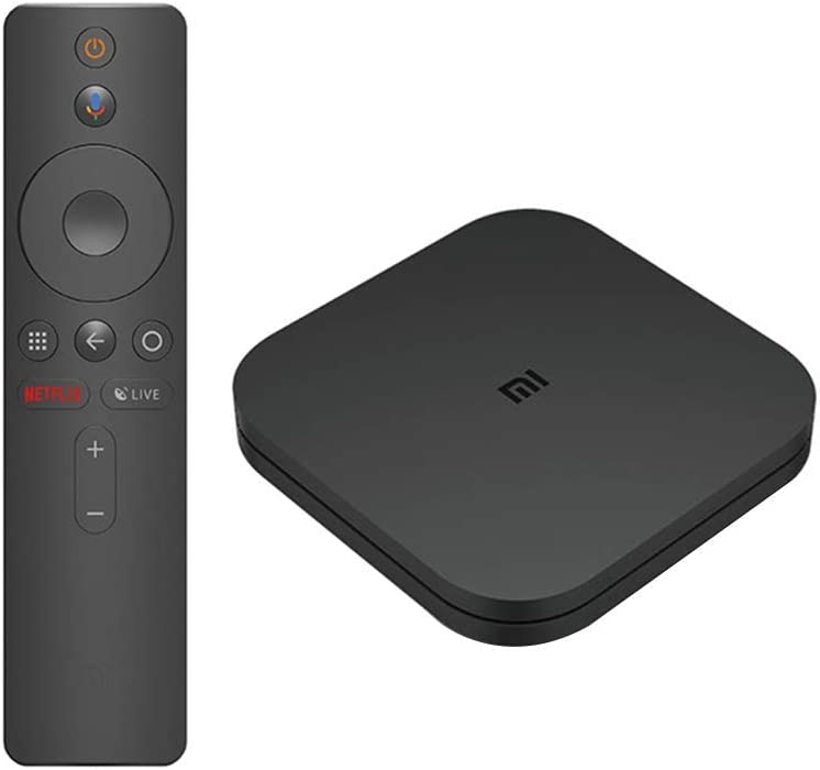 Xiaomi Mi Box S 2GB RAM + 8GB Storage Lecteur multimédia 4K Ultra HD Avec télécommande Bluetooth, HDR 4K, Audio Dolby, DTS HD, Android 8.1