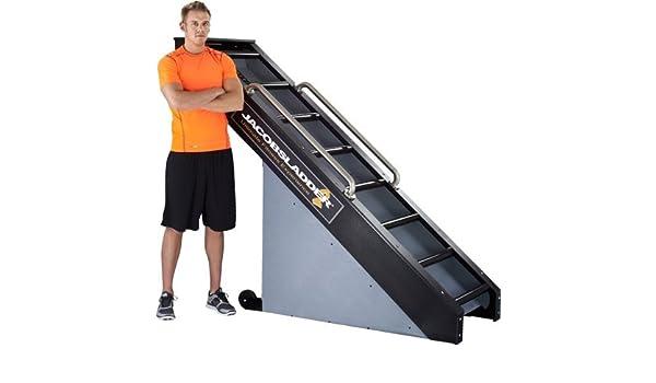 Jacobs escalera 2 ejercicio máquina de gimnasio tamaño casa: Amazon.es: Deportes y aire libre