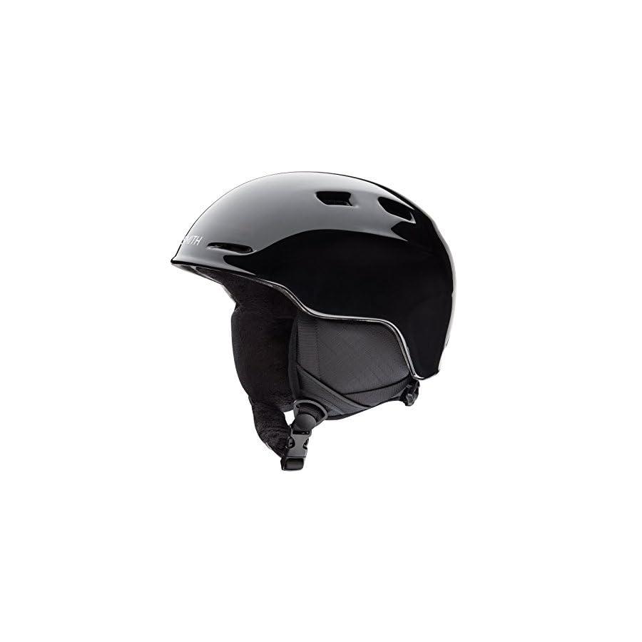 Smith Optics Zoom Jr Youth Snow Helmet (Black, Youth Medium (53 58CM))