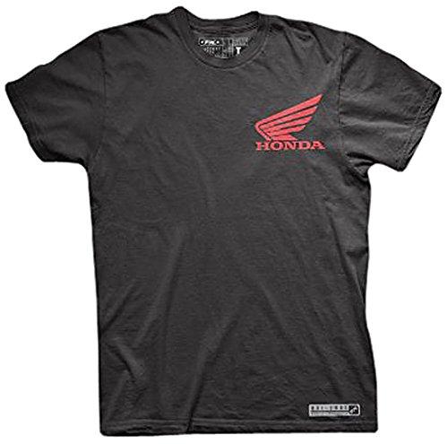 Factory Effex 17-87304 'HONDA' Performance T-Shirt (Black, Large)