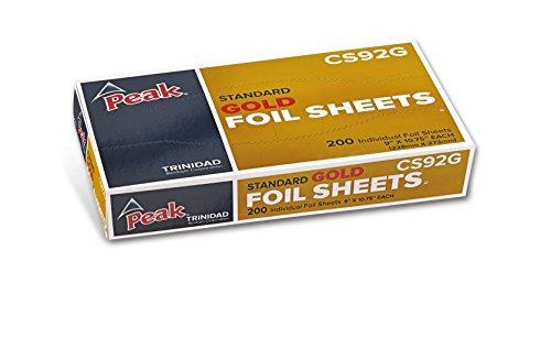 minum Foil Sheets, 200 Sheets per Box, Commerical Grade Pre-Cut Sheets for Cooking, Serving, Prepping Food, Food Service Foil, 9