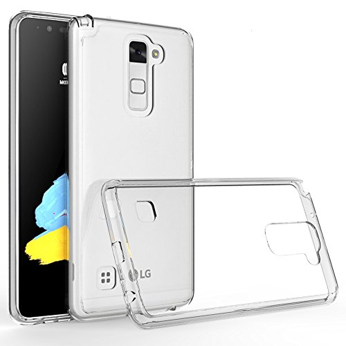 G Stylo 2 Plus/LG Stylus 2 Plus Case, LG Stylo 2V Case,[Crystal Clear] [Air Hybrid] Ultra Slim Shockproof Protective Cover Case for LG Stylo 2 Plus - Scratch Resistant Frame Cover Case - Clear