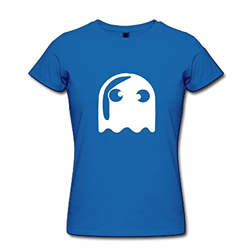 KEMING Women's Eyed Ghost T-shirt (Kevin And Frankie Halloween)