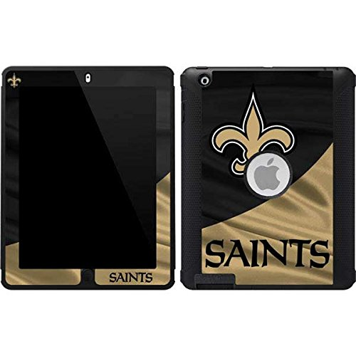 Skinit New Orleans Saints OtterBox Defender iPad 2/3/4th Gen Skin for CASE - Officially Licensed NFL Skin for Popular Cases Decal - Ultra Thin, Lightweight Vinyl Decal Protection