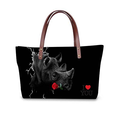 School Women Large W8ccc3004al FancyPrint Bags Bags Shoulder gwFxq1S