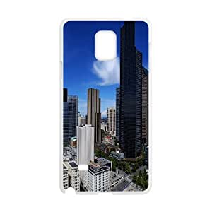 Case for Samsung Galaxy Note 4, Seattle Case for Samsung Galaxy Note 4, Pharrel White