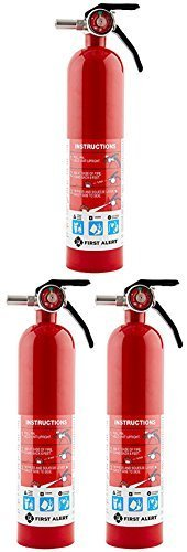 First Alert Household Fire Extinguisher 2 - 1/2 Lb. Us Coast Guard Approved