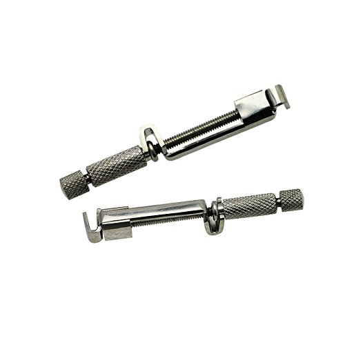 Vinmax 2pcs Dental Universal Tofflemire Matrix Band Straight Retainers Stuck Clip Stainless Steel Instrument by vinmax