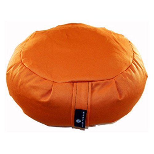 Hugger Mugger Zafu Yoga Meditation Cushion , Pumpkin