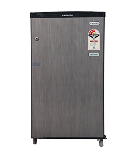 Videocon Direct-cool Single-door Refrigerator (80 Ltrs, Silver Hairline)