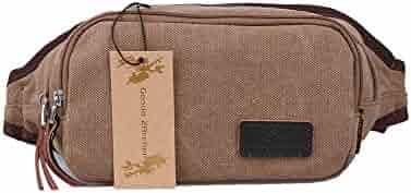 ywbtuechars College student reusable solid color large capacity canvas shopping Messenger bag travel handbag