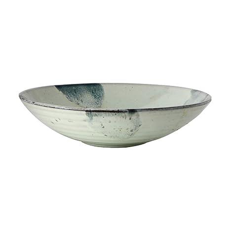 Tazón de cerámica, cuencos para cereales/sopa (23 cm) Platos ...