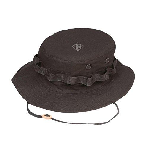 Atlanta Army Navy Tru-Spec Military Boonie Hat, Black - Medium
