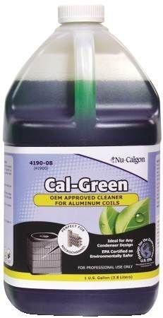 NU-CALGON 4190-081 GAL CAL-GREEN ENVIRONMENTAL FRIENDLY CONDENSER COIL CLEANER 179433 4190-081 GAL CAL-GREEN ENVIRONMENTAL FRIENDLY CONDENSER COIL CLEANER
