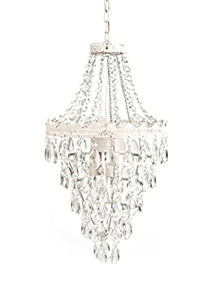 Tadpoles Pendant Chandelier, White Diamond