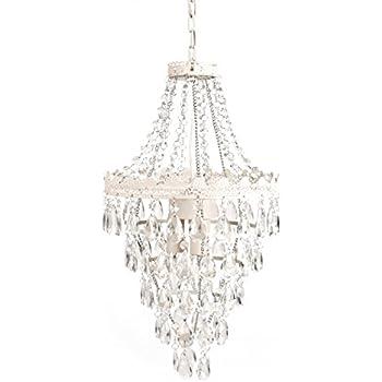 Amazon.com: Tadpoles Pendant lamp Chandelier, White Diamond: Home ...