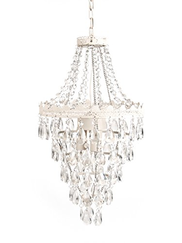 Tadpoles Pendant lamp Chandelier, White Diamond