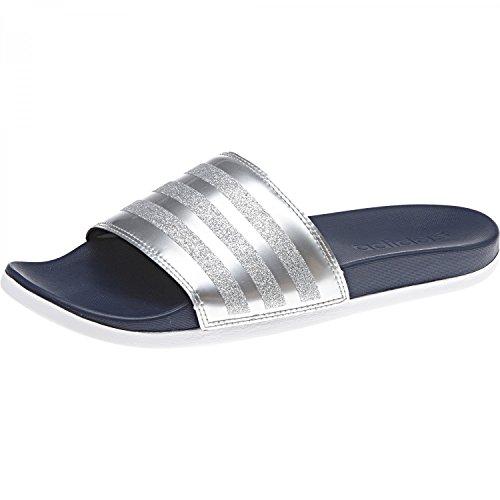 Collegiate de Navy Footwear adidas Collegiate Navy Piscine et Explorer Adilette Chaussures White Femme CF Bleu Plage O6gqx6vwI
