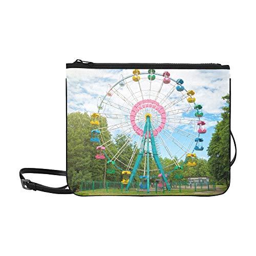 A Colourful Ferris Wheel...
