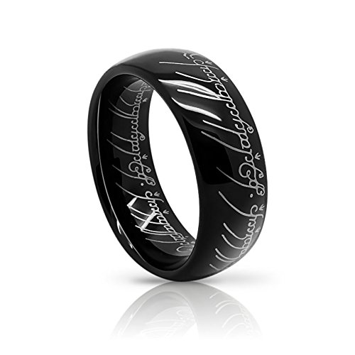 Atomic Jewelry Elvish *The One (Tungsten) Ring* Limited Special Edition Black product image