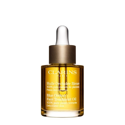 - Clarins Blue Orchid Face Treatment Oil 100 Pure Plant Extracts Size: 1 fl oz,