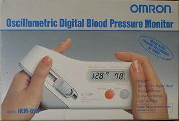 Amazon.com: Omron oscillometric – Tensiómetro digital ...