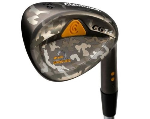 Cleveland CG14 Camo Wedge (Men's Right-Handed, 52 Degree Loft, Standard Bounce, Traction Steel Shaft)
