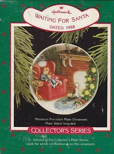 Hallmark ''Waiting For Santa'' Collector's Series- Dated 1988