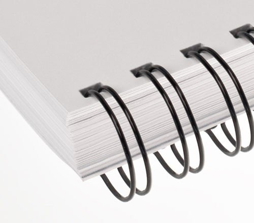 Renz Binding Wires 3:1 34 Loops for 120 Sheets 14.3mm A4 Black