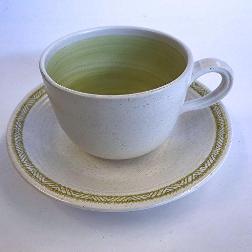 Franciscan Hacienda Earthenware - Franciscan Earthenware Hacienda Green Cup and Saucer Set