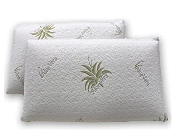oreiller aloe vera 1 Pair of Memory Foam Pillow Pillow Animal Aloe Vera: Amazon.co.uk  oreiller aloe vera