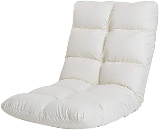 Amazon.com: YLCJ Backrest Folding Single Chair Floor Chair ...