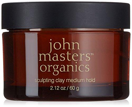 John Masters Organics Sculpting Clay-Medium Hair Hold, 2.12 Ounce by John Masters