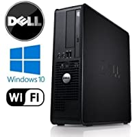 Business Computer! Dell 780 - Core 2 Duo 3.33GHz, 8GB DDR3, New 120GB SSD, Windows 10 Pro, WiFi (Prepared by ReCircuit)