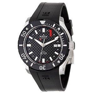 腕時計 エドックス Edox Class 1 GMT Worldtimer Men's Automatic Watch 93005-3-NIN [並行輸入品] B00XXOG9NW