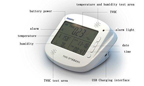 [해외]전문 TVOC 공기 품질 시험기 탐지기 시험 범위 0mg m³-9.99mg m³/Professional TVOC Air Quality Tester Detector Test Range 0mg m³-9.99mg m³