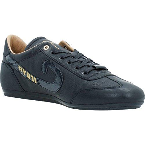 cuir synth Cruyff Chaussures Vanenburg noir ou basses 0HA41fq