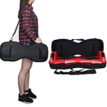 "Scooter Carrying Bag, JackSuper EVA Hard Case for 6.5"" Hoverboards Self Balancing Electric Scooter (Black)"
