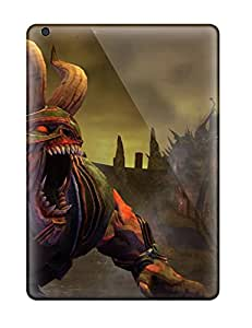 Ultra Slim Fit Hard AmandaMichaelFazio Case Cover Specially Made For Ipad Air- Saints Row: Gat Out Of Hell