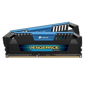 Corsair Vengeance Pro Series Blue 16GB (2x8GB) DDR3 1600 MHZ (PC3 12800) Desktop Memory 1.5V