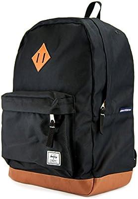 7bc9e59ca2 Amazon.com: Benteng Premium Unisex Leather Backpack College School Bag  Student Backpack Fits 15 inch Laptop Weekender Daypack Travel Rucksack  Business Bag ...