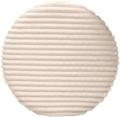MUJI - Cojín Redondo de algodón para el Suelo (40 x 40 cm), diseño de Cadera: Amazon.es: Hogar