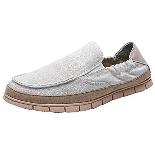 K32 Mens Comfort Sneakers Loafer Flats Espadrilles Stylish Comfy Breathable Athletic Leisure Walking Cloth Shoes