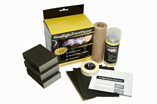 Headlight Restoration DIY 3 Application Kit