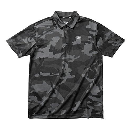 (ニューエラ) NEW ERA ゴルフ ポロシャツ KANOKO POLO ウッドランドカモミッドナイト カモフラ 迷彩柄 GOLF